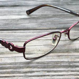 Coach Eyeglasses Frame Sande HC5005 9037 Burgundy